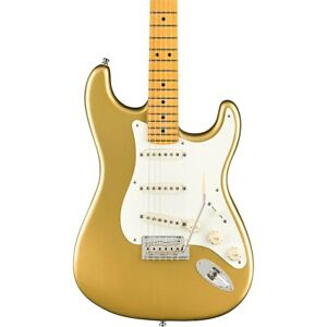 Fender Lincoln Brewster Stratocaster Maple FB Electric Guitar Aztec Gold