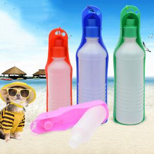 250-500ML-Portable-Pet-Dog-Cat-Outdoor-Travel-Water-Bowl-Bottle-Feeder-Drinking