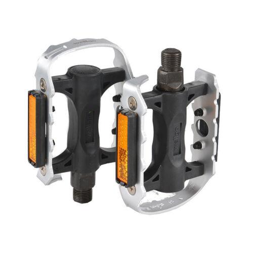 "WELLGO LU-C25 MTB BMX Road Bike Pedals Flat//Platform Bicycle Pedals 9//16/"" 1Pair"