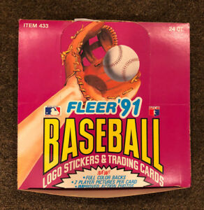 Details About Fleer 91 Baseball Logo Stickers Trading Cards 433 Rare Set