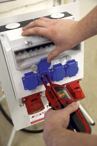 Testboy LCD 3 zweipoliger numérique contrainte durchganprüfer incl sac de protection