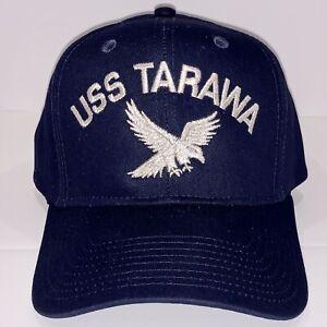USS TARAWA LHA-1 EMBROIDERED HAT CAP USN NAVY SHIP AMPHIBIOUS ASSAULT