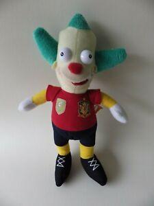 Peluche-Vintage-Simpson-krusty-00-maillot-de-foot-28-cm