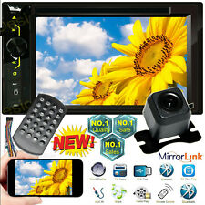 Mirrorlink For Gps Hd 2din Car Stereo Radio Cd Dvd Bluetooth Chevrolet Gmc Truck
