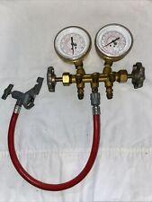 Uniweld Refrigerant Gas Test Gauge 100qa
