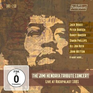 JIMI-HENDRIX-TRIBUTE-CONCERT-LIVE-1991-2-CDS-PLUS-DVD-GERMAN-IMPORT-JACK-BRUCE