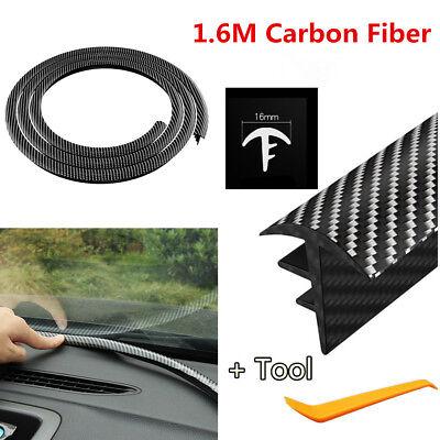 Carbon Fiber Dashboard Windshield Gap Filling Sealing Engine Noise Insulation