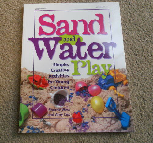 1 of 1 - Sand And Water Play -Simple Creative Activities For Young Children - West-Cox