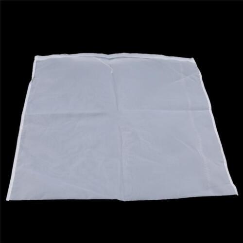 Nut Milk Bag Reusable Fine Nylon Mesh Food Strainer Coffee /& Tea Filter W