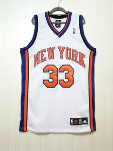 buy online 81672 244fc Details about Patrick Ewing New York Knicks Retirement Authentic Jersey  Size 40 NWT NBA