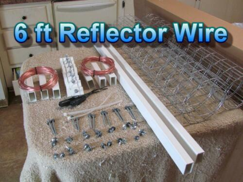 The Ultimate Outdoor TV Antenna 2 Piece  Full Kit