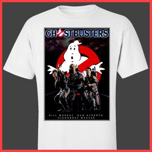 GHOSTBUSTERS print TShirt S M L XL 2XL 3XL 1980s movie poster print T-Shirt