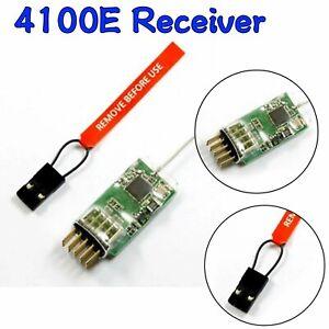 4100E-2-4G-4-Kanal-Qualitaets-Mikroempfaenger-fuer-JR-SPEKTRUM-Sender-Neu