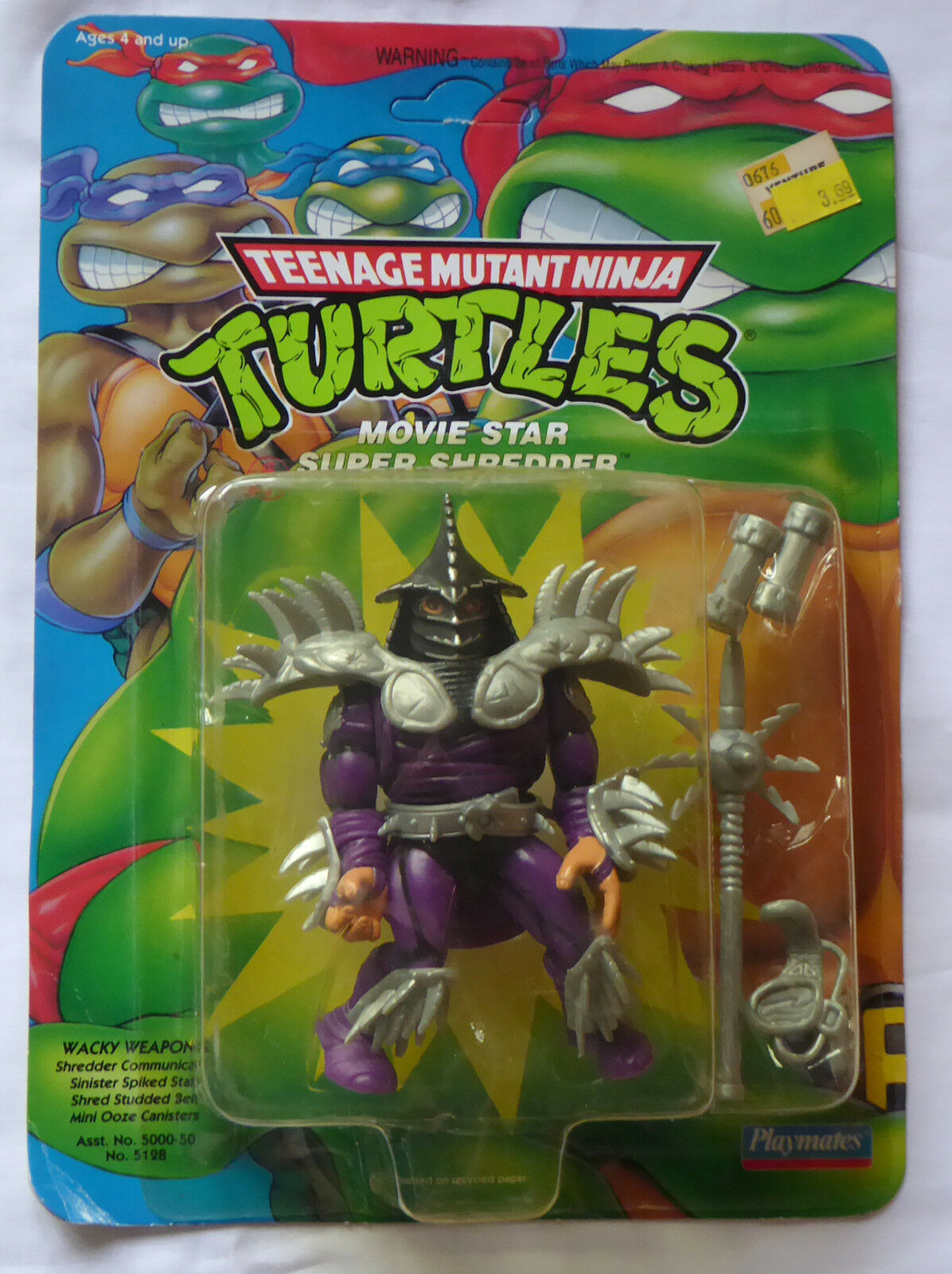 1991 tmnt teenage mutant ninja turtles bild super - schrotder misb (1992 - frage)