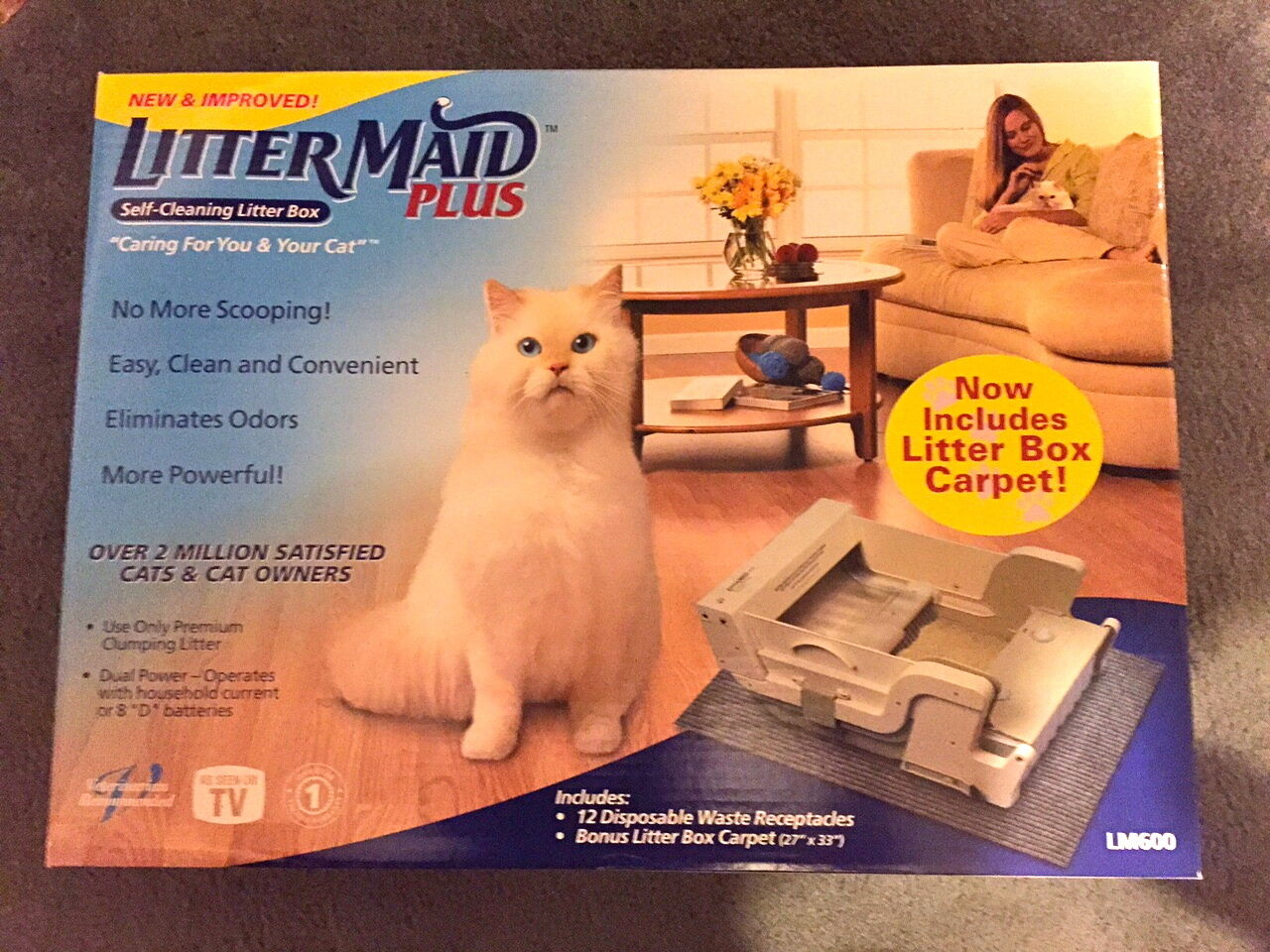 Brand New Littermaid Littermaid Littermaid Plus LM600 540829