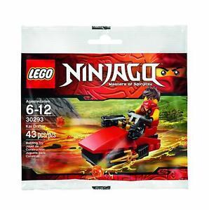Lego-Ninjago-30293-Kai-Drifter-kleinen-Polyestertasche-Set
