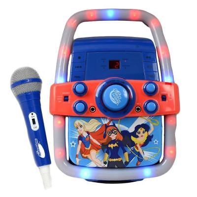 DC Super Girls Children's Kids Karaoke Machine Speaker CD ...