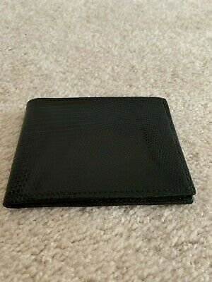 by SHANTPETER MADE IN U.S.A Genuine lizard wallet money and card men/'s wallet