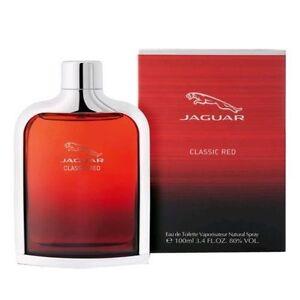 Jaguar-Classic-Red-Cologne-by-Jaguar-3-4-oz-EDT-Spray-for-Men-NEW