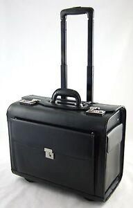 d-amp-n-Pilotentrolley-45-36-24-cm-Leder-Business-Laptop-Trolley-Pilotenkoffer-2870