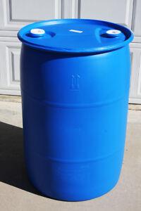 55-Gallon-Plastic-Water-Storage-Barrel-Drum-Food-Grade-Rainbarrel-Rain-barrel