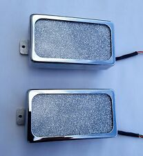 GLAMBUCKER Lace Sensor Alumitone Custom Shop humbucker set,built by Jeff Lace