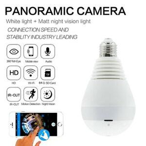 WiFi-Full-HD-1080P-Smart-360-Panoramic-Fisheye-Hidden-Spy-Bulb-Light-Camera-Lamp