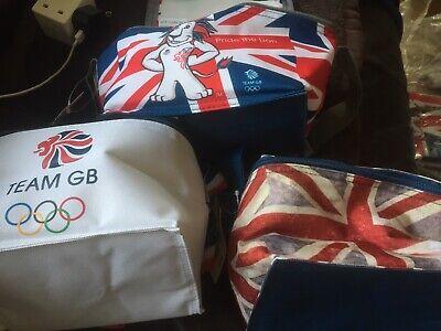 3 X Pranzo Cool Bag Team Gb Orgoglio Il Leone- A Tutti I Costi