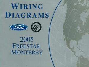 2005 ford freestar mercury monterey wiring diagrams schematics book 2005 Ford Five Hundred Wiring Diagram