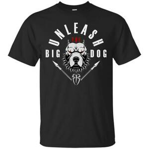 Wwe-Unleash-The-Big-Dog-Roman-Reigns-Men-s-T-Shirt