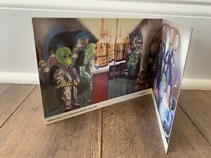 STAR WARS CREATURE CANTINA UNUSED BACKDROP VINTAGE KENNER 1979 ANH LUKE R2D2 C9+