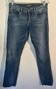 Lucky-Brand-Sweet-N-Straight-Jeans-Women-039-s-Size-6-AR0711