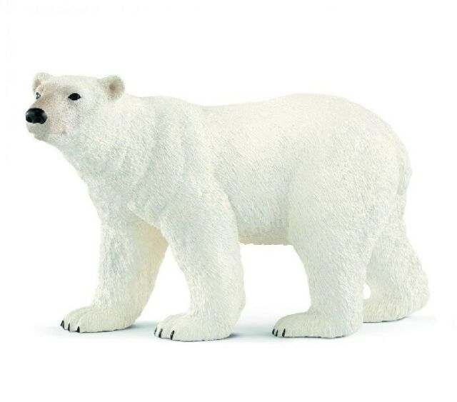 Schleich 14800 Oso Polar 10,5 cm Serie Animales Salvajes