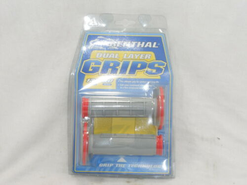 RENTHAL G156 RED//GREY GRIPS DIAMOND WAFFLE *NEW