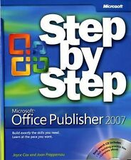 Microsoft  Office Publisher 2007 Step by Step (Step By Step (Microsoft-ExLibrary