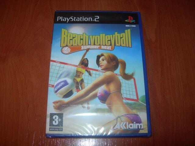 SUMMER HEAT BEACH VOLLEYBALL PS2 (PAL ESPAÑA PRECINTADO)