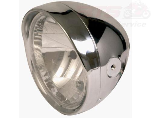Lampe Licht SHIN YO 6 1//2 Zoll Cruiser-Chromscheinwerfer mit Schirm chrome inch