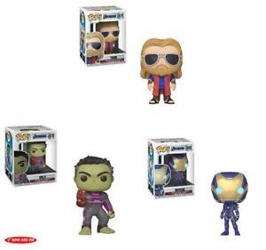 Marvel-039-s-Avengers-Endgame-Funko-Pops-PRE-ORDER-Thor-Rescue-6-inch-Hulk