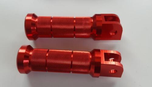 CNC Repose-pieds DAX Monkey rouge pour HONDA Skyteam motos tout-terrain etc.