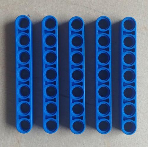 4 LEGO TECHNIK LIFTARME 32524 1x7 5 STÜCK BLAU AUS 42042 TOP ZUSTAND SAMMLUNG