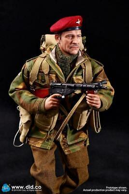 1//6 Scale Toy World War Two-British Airborne-Metal ENFIELD Mk I Revolver avec string