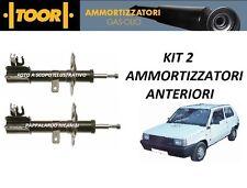 2 AMMORTIZZATORI ANTERIORI FIAT PANDA 750 - 900 - 1000 - 1100  dal 1986 al 2003