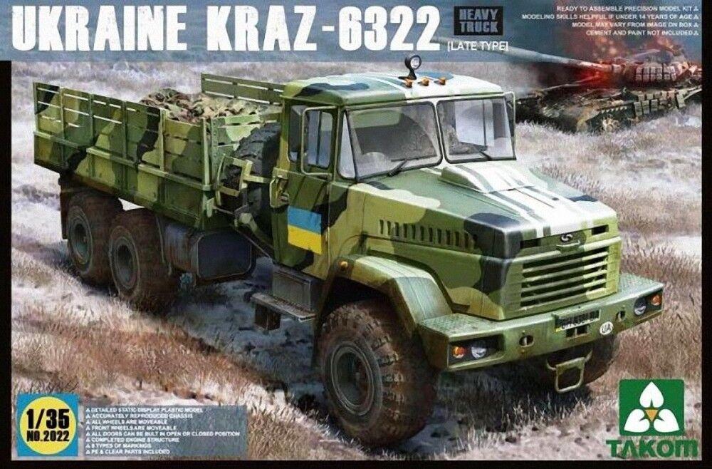 Takom (三花) 1 35 Ukraine KRA-6322 Late Type NewSealed