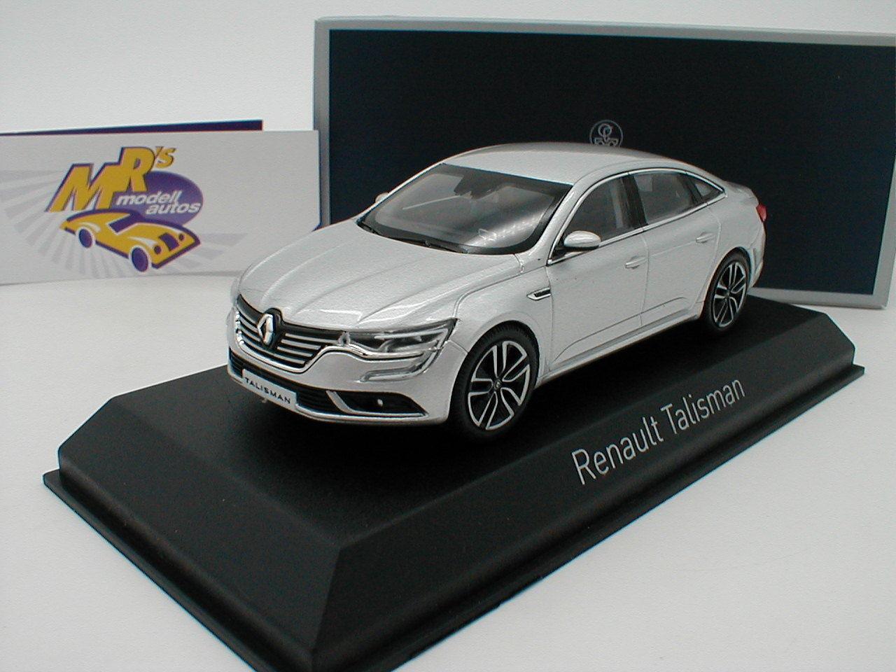 NOREV 517744-Renault Talisman année de fabrication 2016 in argent métallique 1 43 Nouveauté
