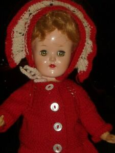 2f1a00f3632 Vintage Ideal Doll Toni P-90 Honey Brown 14
