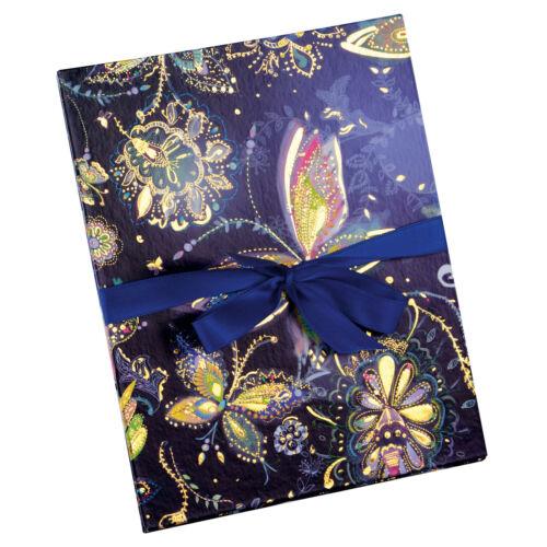 Goldbuch Leporellomappe 15,5x19cm Kunstdruckpapier Relief Neu OVP Auswahl modern