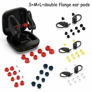 fuer-Beats-PowerbeatsPro-Powerbeats3-Bluetooth-Kopfhoerer-Doppelflansch-Ohrpolster
