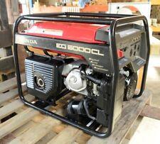 Honda Eg5000cl Gas Generator Great Condition 5000 Watt