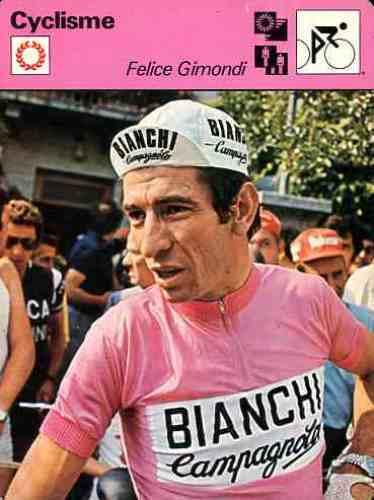 FELICE GIMONDI BIANCHI Team Giro Cyclisme Cycling ciclismo cycliste cycliste cycliste wielrennen 716b34