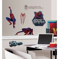 Wall Sticker 25 Pc Amazing Spiderman Children Room Decor